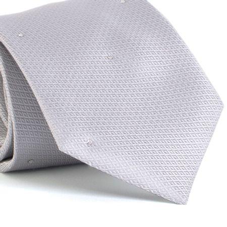 Gravata-com-desenhos-geometricos-em-seda-pura-swarovski-Prata-textura-small-2