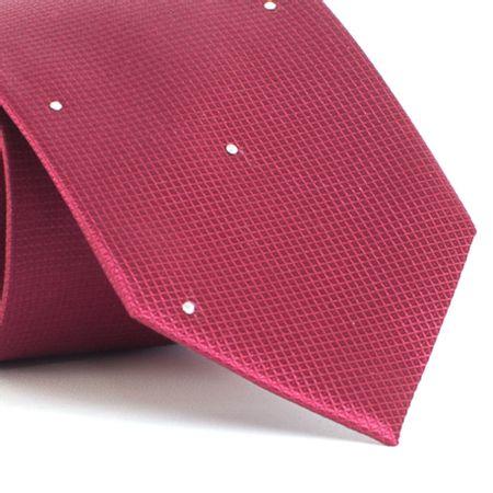 Gravata-com-desenhos-geometricos-em-seda-pura-swarovski-Vermelha-textura-small