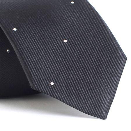 Gravata-com-desenhos-geometricos-em-seda-pura-swarovski-Preta-textura-small