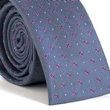 Gravata-Slim-bico-quadrado-com-desenhos-geometricos-em-poliester-Cinza-textura-small-5