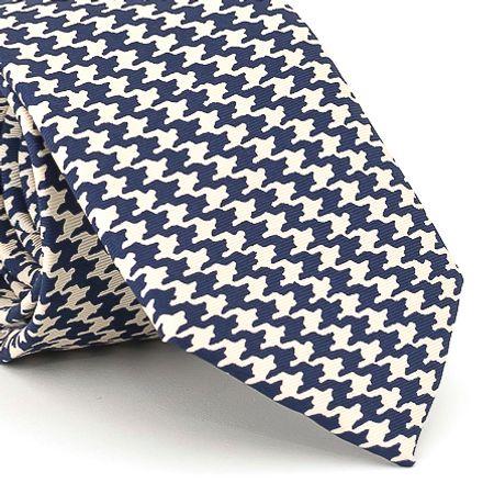 Gravata-estampada-em-seda-pura-com-desenho-geometrico-na-cor-Branca-textura-large-3