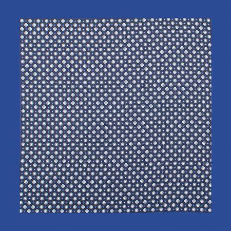 Lenco-de-bolso-com-desenho--geometrico-em-poliester-azul
