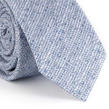 Gravata-Slim-com-desenho-geometrico-em-poliester-azul-royal
