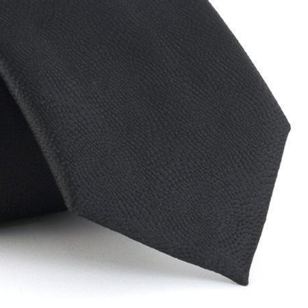 Gravata-em-poliester-texturizada-micro-bolinhas-preta