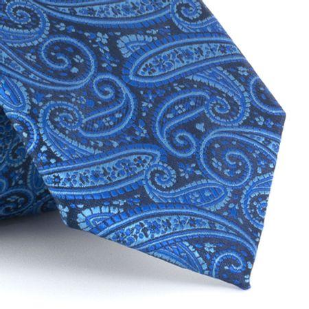 Gravata-em-poliester-cashmere-com-fundo-marinho-e-tracos-em-azul-claro-e-royal