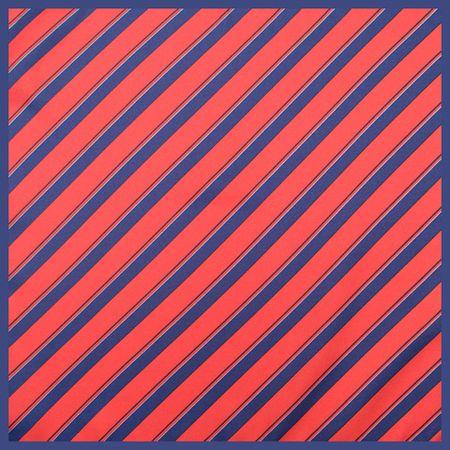 Lenco-de-bolso-com-faixas-geometricas-em-poliester-azul-e-vermelho