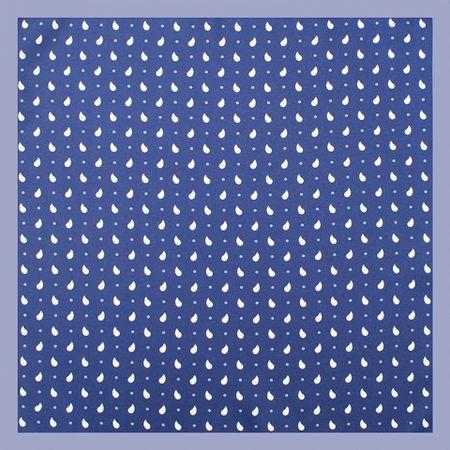 Lenco-de-bolso-com-desenho-gotas-em-poliester-marinho-com-branco