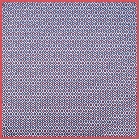 Lenco-de-bolso-estampa-geometrica-marinho-vermelho-e-branco