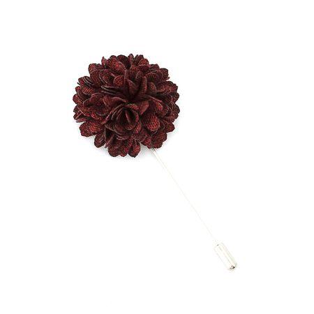 Pino-de-lapela-flor-crisantemo-texturizado-marsala