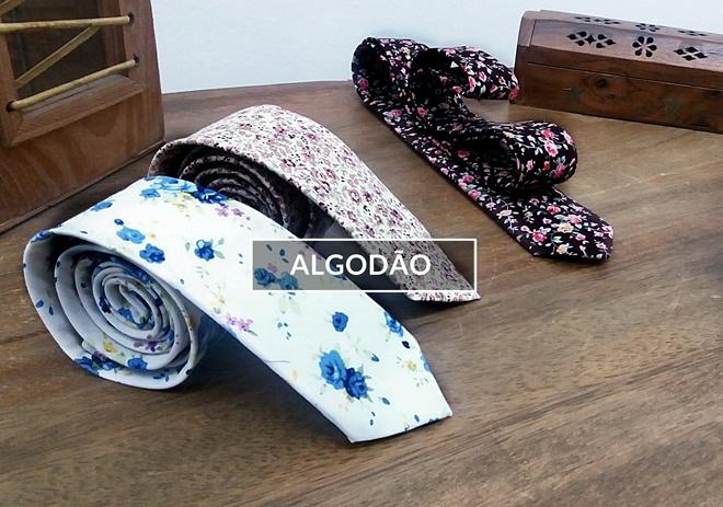 gravata>algodao