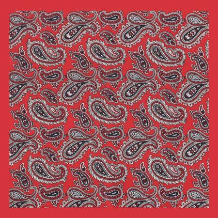 Lenco-de-bolso-com-desenho-cashmere-em-poliester-vermelho