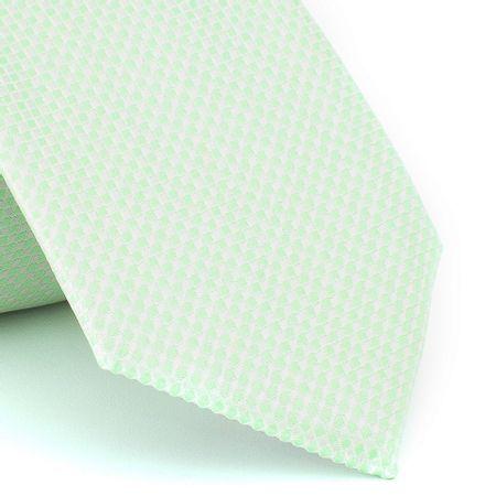 Gravata-falso-liso-em-jacquard-de-poliester-verde-erva-doce