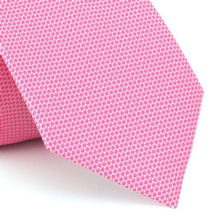 Grava-falso-liso-em-jacquard-de-poliester-rosa-chiclete-com-fundo-branco