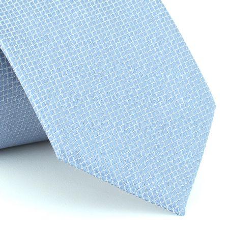 Gravata-falso-liso-em-jacquard-de-poliester-azul-serenity