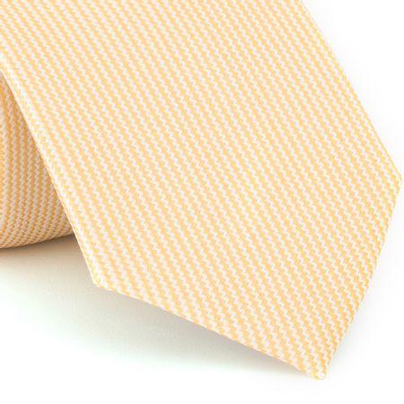 Gravata-Tradicional-falso-liso-em-jacquard-de-poliester-amarelo-claro-com-fundo-branco