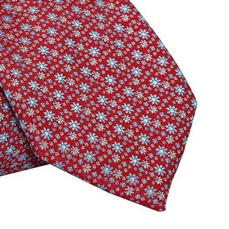 Gravata-Tradicional-em-poliester-floral-com-fundo-vermelho-e-toques-de-azul-e-branco1
