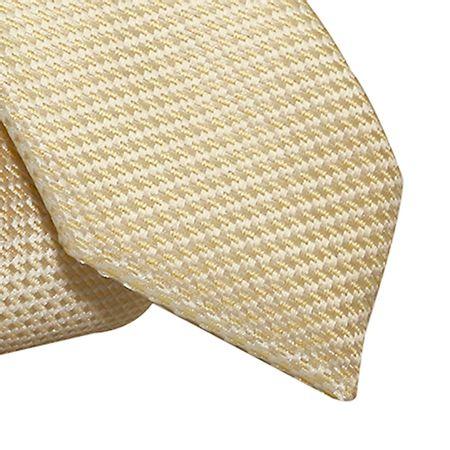 Gravata-Slim-falso-liso-em-poliester-amarelo-bebe-com-fundo-branco1