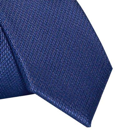 Gravata-Super-Slim-falso-liso-Azul-Marinho1