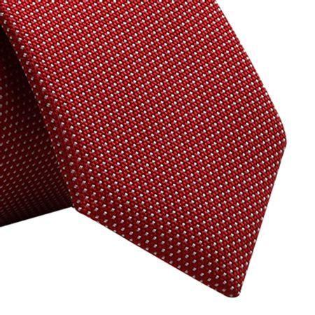 Gravata-Super-Slim-com-petit-poa-em-poliester-Vermelho-com-fundo-branco1
