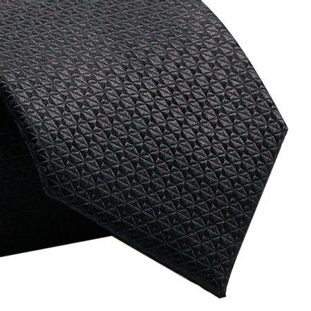 Gravata-Tradicional-em-poliester-mix-triangular-preta