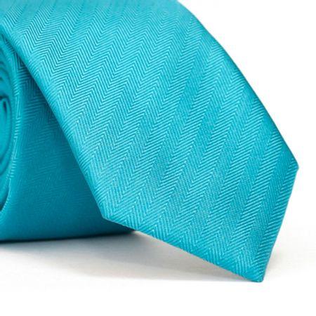 gravata-slim-com-desenhos-falso-liso-em-diagonal-em-poliester-azul-piscina