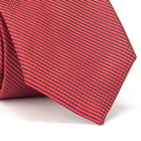 Gravata-Tradicional-em-Poliester-com-Desenho-Listrado-e-Xadrez-na-cor-Vermelha