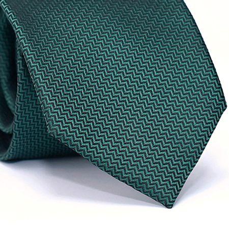 Gravata-Tradicional-em-Poliester-com-Desenho-Geometricos-na-cor-Verde