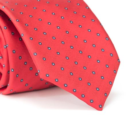 Gravata-Tradicional-em-Poliester-Vermelha-com-Detalhes-Azul-e-Branco