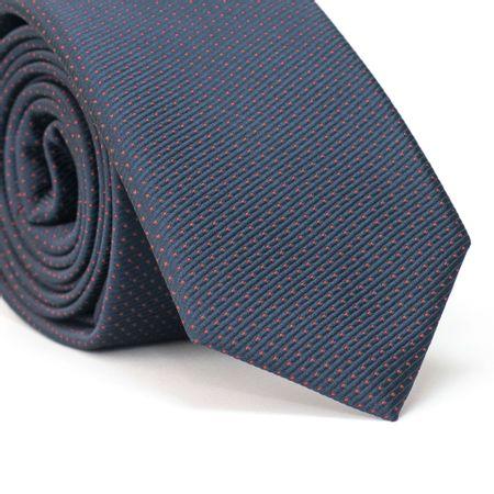 Gravata-Slim-em-Poliester-Falso-Liso-Azul-Marinho-Copy