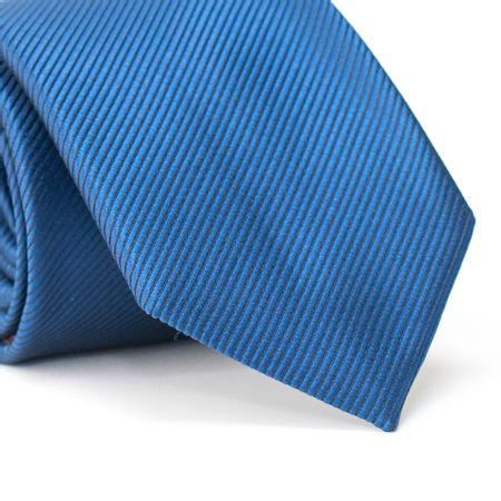 Gravata-Tradicional-em-Poliester-Azul-com-Falso-Liso-Diagonal