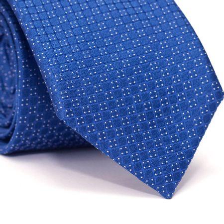 Gravata-Tradicional-em-Poliester-Azul-com-Quadriculado-Azul