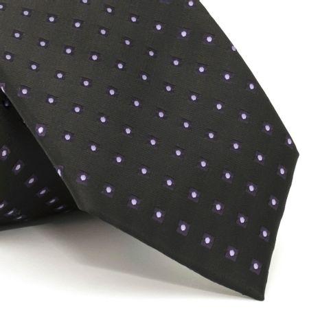 gravata-com-desenhos-geometricos-em-poliester-preta-textura-medium-6