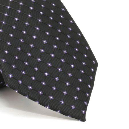 gravata-com-desenhos-geometricos-em-poliester-preta-textura-small-4