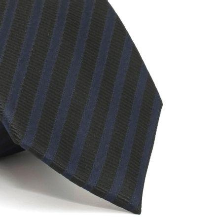 gravata-com-desenho-listrado-em-poliester-preta-textura-medium-2