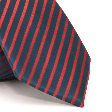 Gravata-com-desenho-listrado-em-poliester-Azul-textura-medium-01