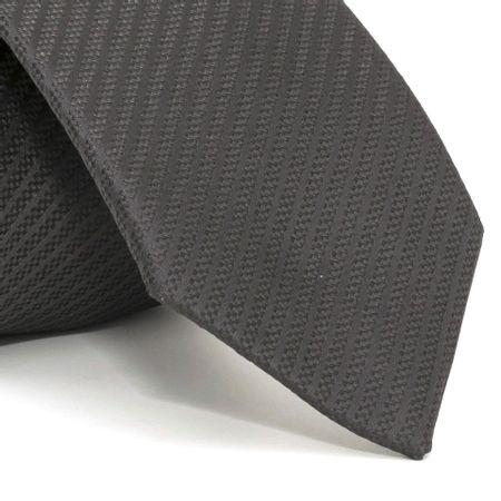 Gravata-com-desenho-falso-liso-em-poliester-Cinza-textura-small-3