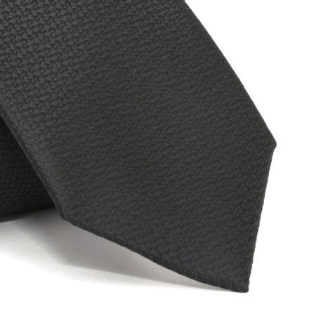gravata-com-desenho-falso-liso-em-poliester-preta-textura-medium