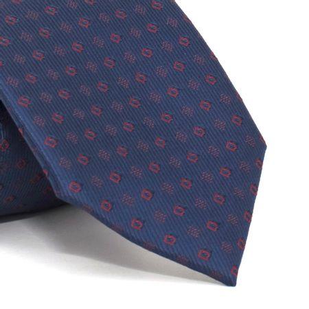 Gravata-com-desenhos-geometricos-em-poliester-Azul-textura-medium-1