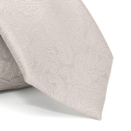 Gravata-com-desenho-cashmere-em-poliester-Cinza-textura-large-1