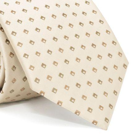 Gravata-com-desenhos-geometricos-em-poliester-Marrom-textura-medium