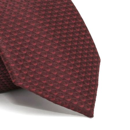 Gravata-com-desenhos-geometricos-em-poliester-Vermelha-textura-small