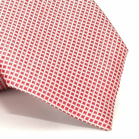Gravata-com-desenhos-geometricos-em-seda-pura-Vermelha-textura-small