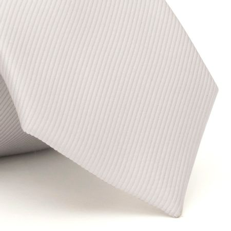 Gravata-com-desenho-falso-liso-em-seda-pura-Cinza-textura-small