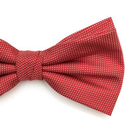 Gravata-borboleta-com-desenhos-geometricos-em-poliester-Vermelha-textura-small