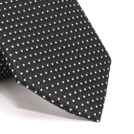 Gravata-Slim-com-desenhos-geometricos-em-poliester-Preta-textura-small-2