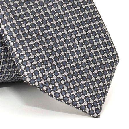 Gravata-Slim-com-desenhos-geometricos-em-poliester-Cinza-textura-small-3