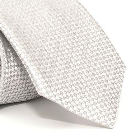 Gravata-com-desenhos-geometricos-em-seda-pura-Cinza-textura-small-2