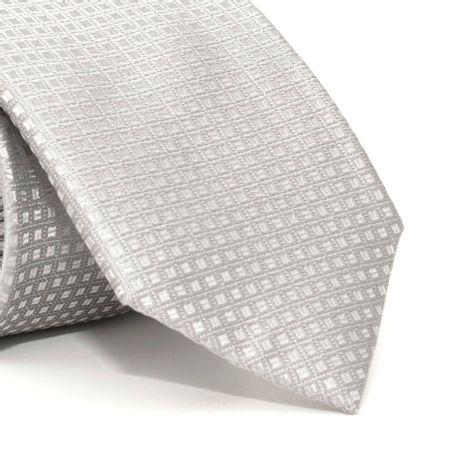 Gravata-com-desenhos-geometricos-em-seda-pura-Cinza-textura-small-4