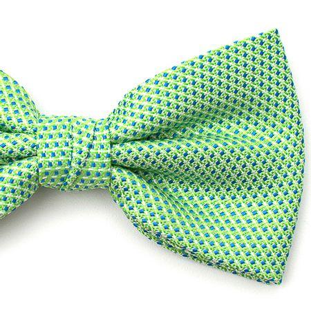 Gravata-borboleta-com-desenhos-geometricos-em-poliester-Verde-textura-small