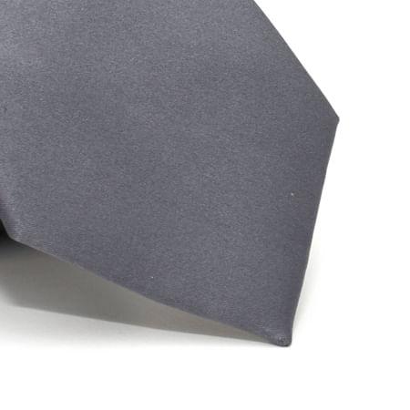Gravata-lisa-em-poliester-basico-Cinza-textura-2